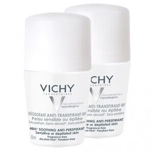 Vichy - Deo Anti-Transpirant 48h empfindliche Haut Duo Roll-on (2 x 50ml)