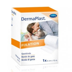 Dermaplast Gauze bandage solid-edged 6cmx10m (10 pcs)