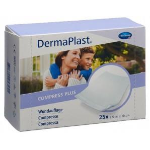 DermaPlast Compress Plus 7.5x10cm (25 Stk)