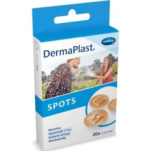 Dermaplast Taches rondes de couleur chair (20 pcs.)