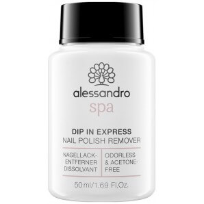 Alessandro Spa DIP IN EXPRESS Dissolvant de vernis à ongles (50ml)