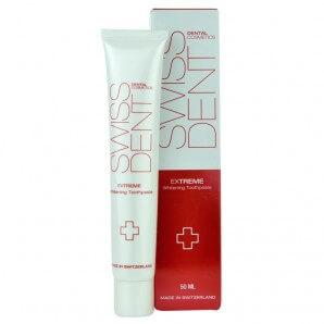 SWISSDENT EXTREME Whitening Toothpaste (50ml)