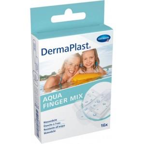 Dermaplast Aqua Finger Mix (16 pcs)