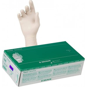 Vasco Sensitive Latex Gloves L (100 pcs)