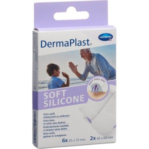 Dermaplast Soft Silicone Strips (8 pcs)
