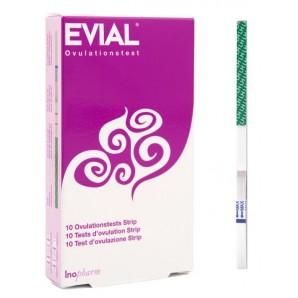 Evial Bandelette de test d'ovulation (10 pièces)