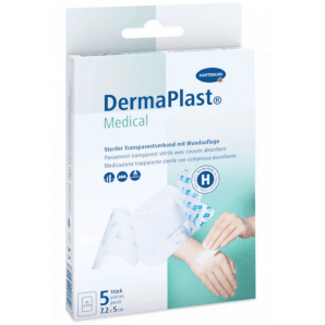 DermaPlast Medical Transparentverband 7.2x5cm (5 Stk)