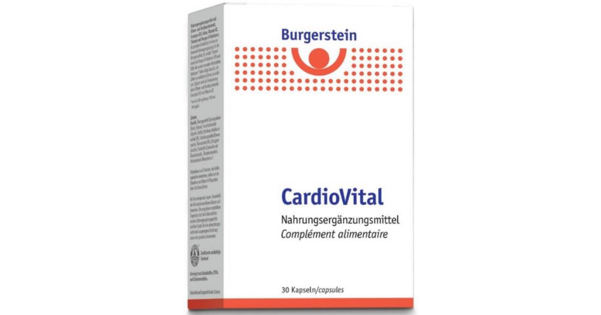 Burgerstein CardioVital Kapseln (30 Stk)