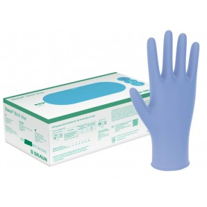Vasco Nitril Handschuhe Blau M (150 Stk)