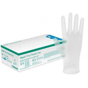 Vasco Vinyl Powder-Free Handschuhe S (100 Stk)