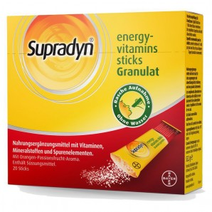 Supradyn Bâtonnets Energy-Vitamin (20 pcs)