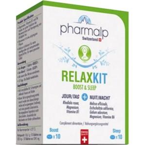 pharmalp Relaxkit Boost & Sleep Tabletten Blister (20 Stk)