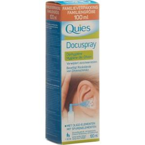 Quies Docuspray Hygiene der Ohren (100ml)