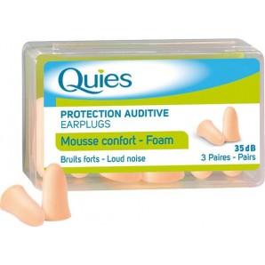 Quies Lärmgehörschutzkugeln Schaumstoff hautfarben (6 Stk)