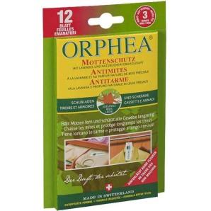 ORPHEA Mottenschutz Blätter Edelholzduft (12 Stk)