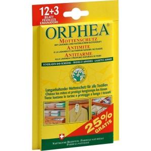 ORPHEA Mottenschutz Blätter Blüten (12+3 Stk) Aktion