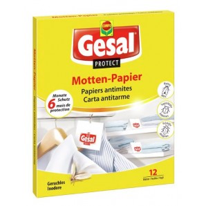 Gesal Protect Motten-Papier (12 Stk)