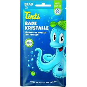 Tinti Badekristalle blau Beutel (1 Stk)