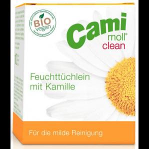 Cami-moll clean Feuchttücher (10 Stk)