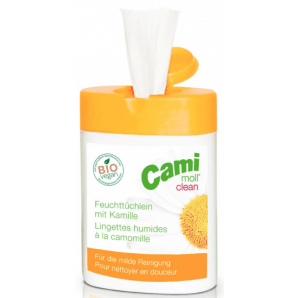Cami-moll clean Feuchttücher Click-Box (40 Stk)