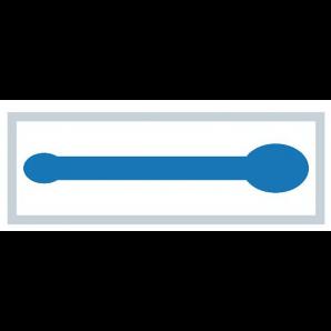 MediSet Mundspatel Blau (50 Stk)