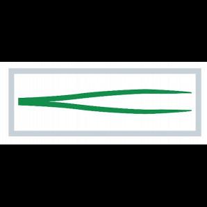 MediSet Anatomische Pinzette Grün im Dispenser (20 Stk)