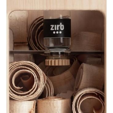 Aromalife Zirb Raumlüfter inkl. Zirb Öl und Locken