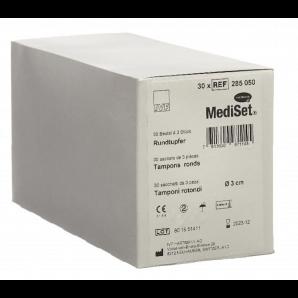 MediSet Rundtupfer Steril 3cm (30x3 Stk)