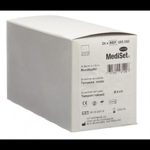 MediSet Rundtupfer Steril 4cm (24x4 Stk)