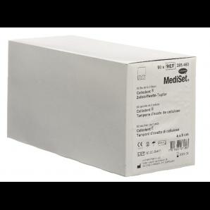 MediSet Cellodent Zellstoffwatte-Tupfer 4x5cm (90x3 Stk)