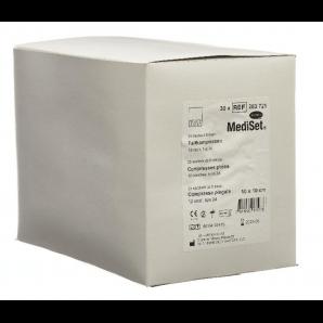 MediSet Faltkompressen Typ 24 Steril 10x10cm 12-fach (30x5 Stk)
