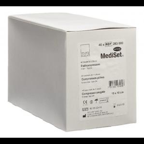 MediSet Faltkompressen Typ 24 Steril 10x10cm 8-fach (40x3 Stk)