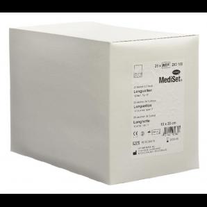 MediSet Longuette Typ 17 Steril 10x20cm 12-fach (7x10 Stk)