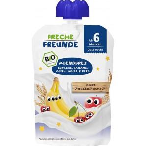 FRECHE FREUNDE Quetschmus Kirsche Banane & Apfel (100g)