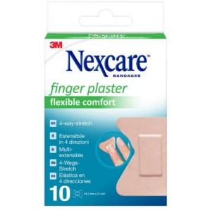 3M Nexcare BANDAGES Fingerpflaster Flexible Comfort 4.45x5.1cm (10 Stk)