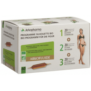 ARKOFLUIDE Triopack Bio Trinkampullen (60 Stk)