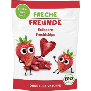 FRECHE FREUNDE Fruchtchips Erdbeere (12g)