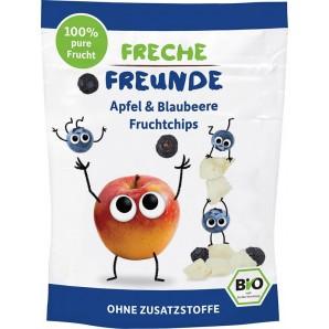 FRECHE FREUNDE Fruchtchips Apfel & Blaubeere (16g)