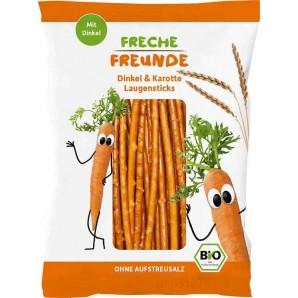 FRECHE FREUNDE Laugensticks Karotte Beutel (75g)