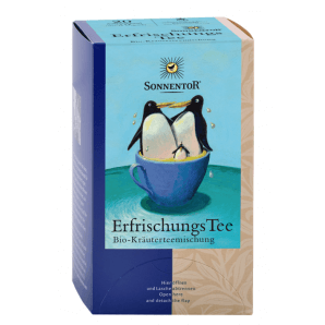 Sonnentor Refreshing tea...