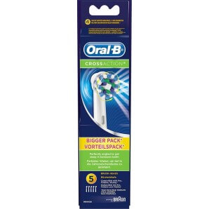 Oral-B brush heads Cross Action CleanMax (5 pcs)