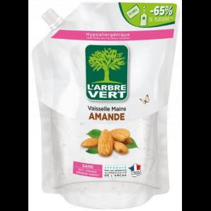 L'ARBRE VERT Öko Geschirrspülmittel Mandel Refill (1L)