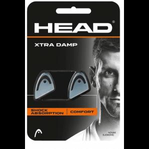 HEAD XTRA DAMP weiss/schwarz (2 Stk)
