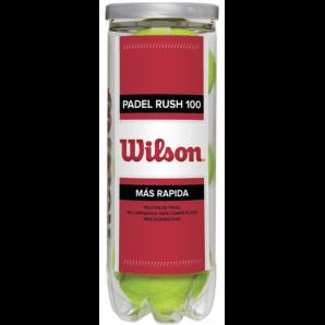 Wilson Padel Rush 100 (scatola da 3)