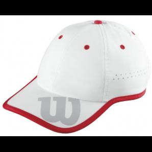 Berretto Wilson (bianco/rosso)