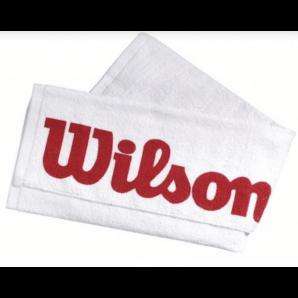 Asciugamano Wilson Court bianco/rosso (75x50cm)