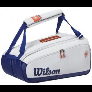 Wilson Roland Garros 9 Racket Bag Oyster/Navy