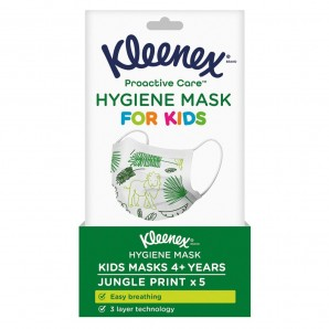 Kleenex Proactive Care Hygiene Maske KINDER (5 Stk)