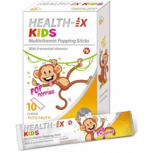 HEALTH-IX Bambini Multivitamina Popping Sticks (10 pz)