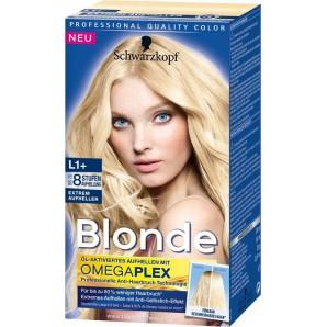 Schwarzkopf Blonde L1 + Extreme Brightener